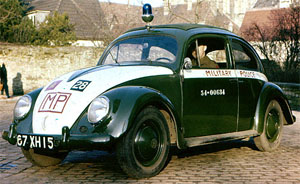 image of Provost Volkswagon patrol vehicle.